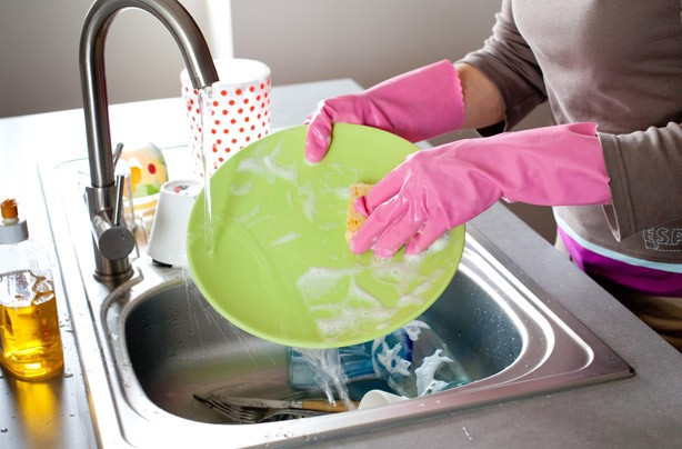 Washing up is the perfect time to be mindful