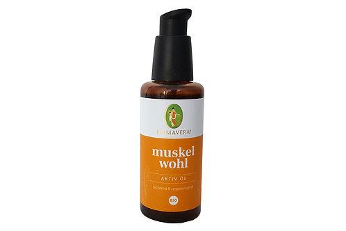 Primavera Muskelwohl Aktiv-Öl Bio 50ml