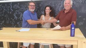 Firmado convenio de colaboración entre THE ISBJORN COLLECTIVE y MUNDO MARINO
