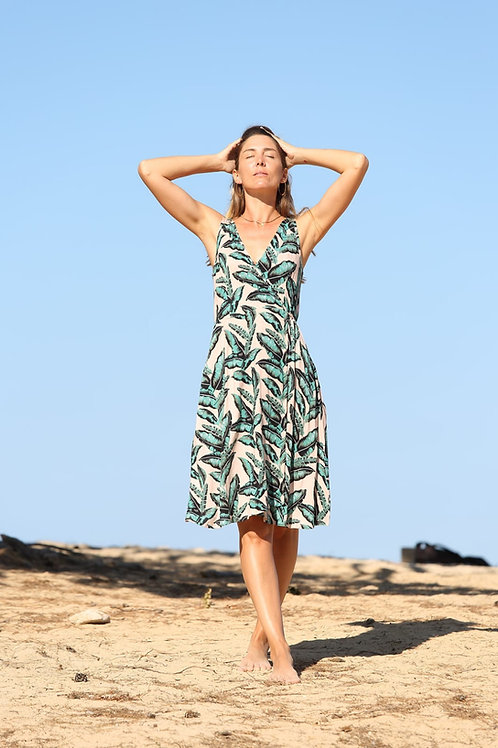 GREEN LEAVES DRESS