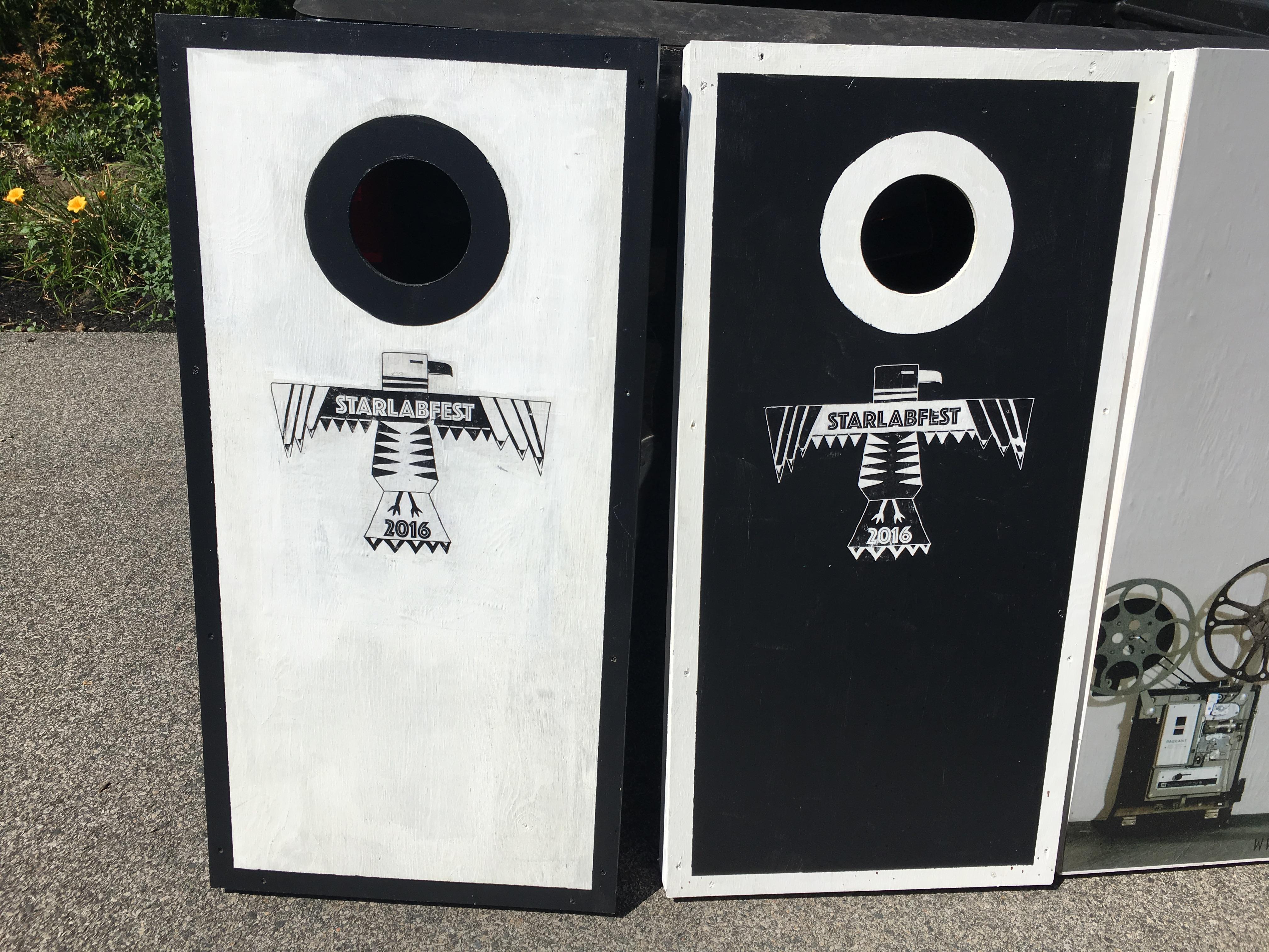 Starlabfest Cornhole boards