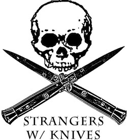 skull and switchblades