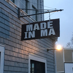 MADE IN MA sign