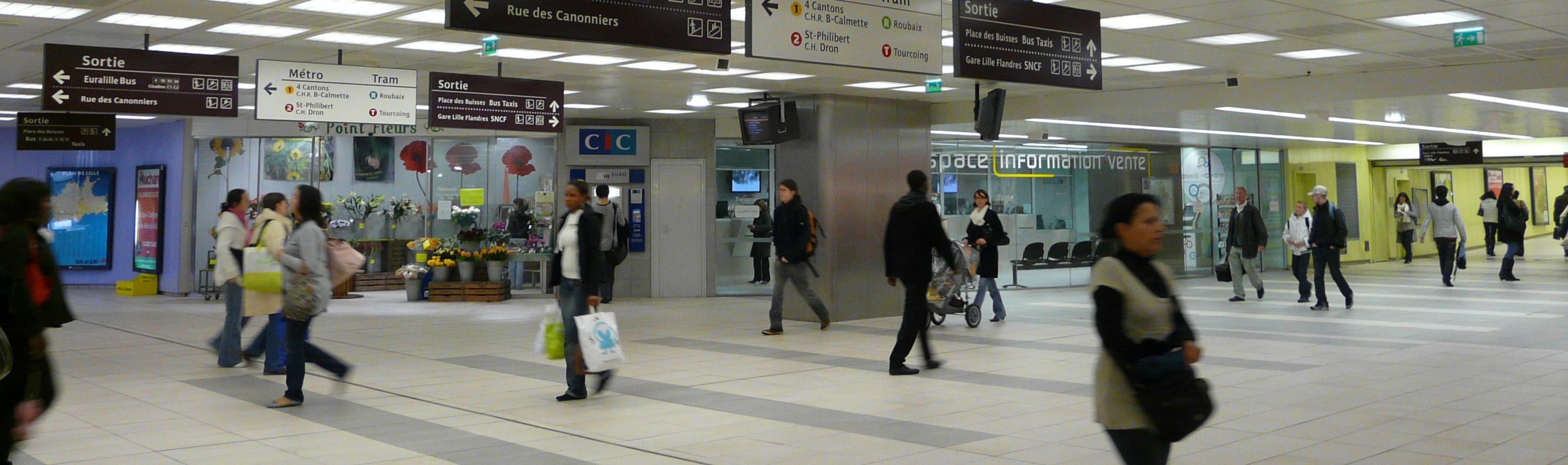 espaces commerciaux à Lille Flandres