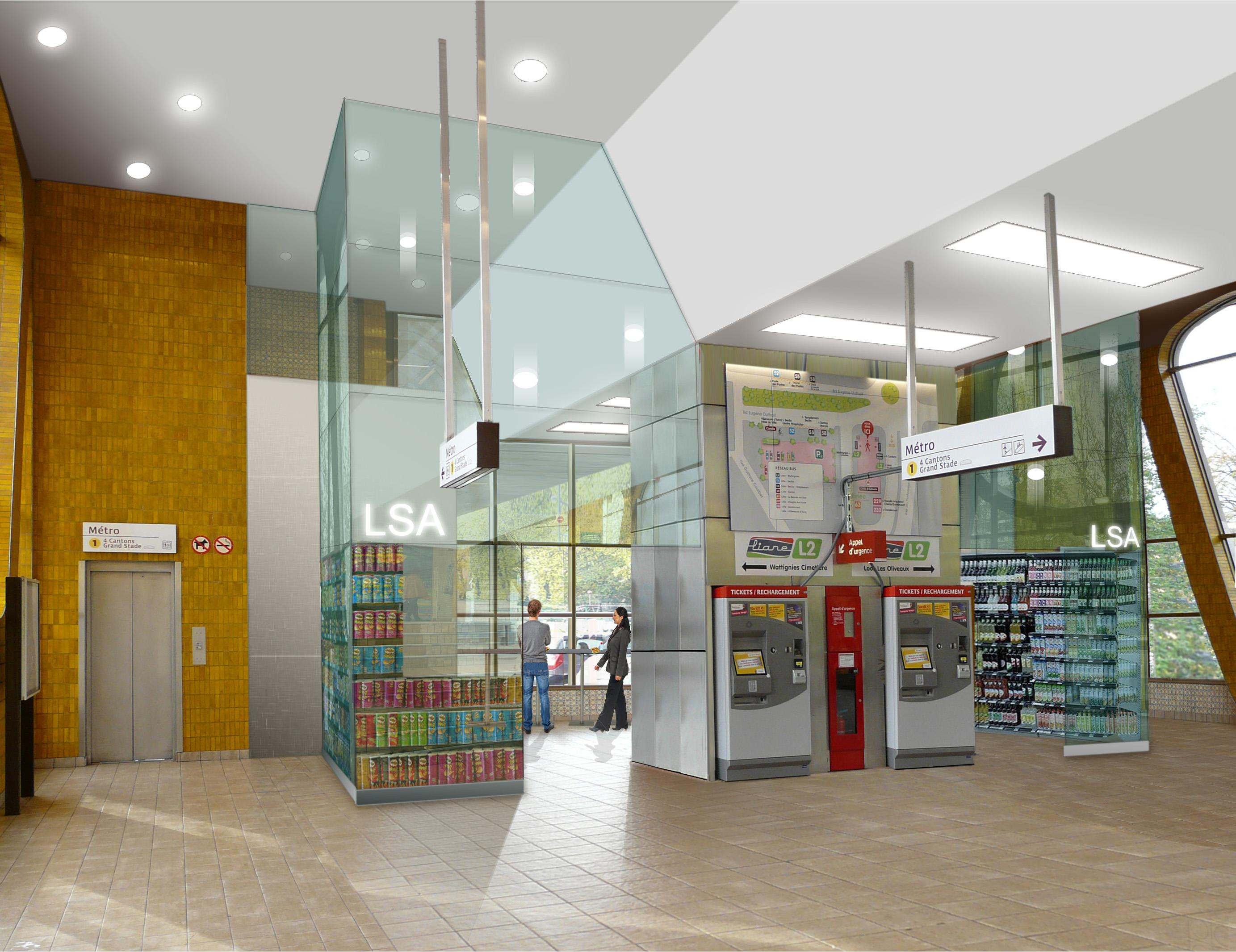 commerces station Calmette