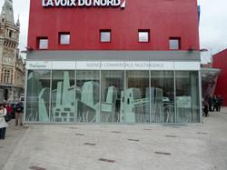 graphisme sur façade