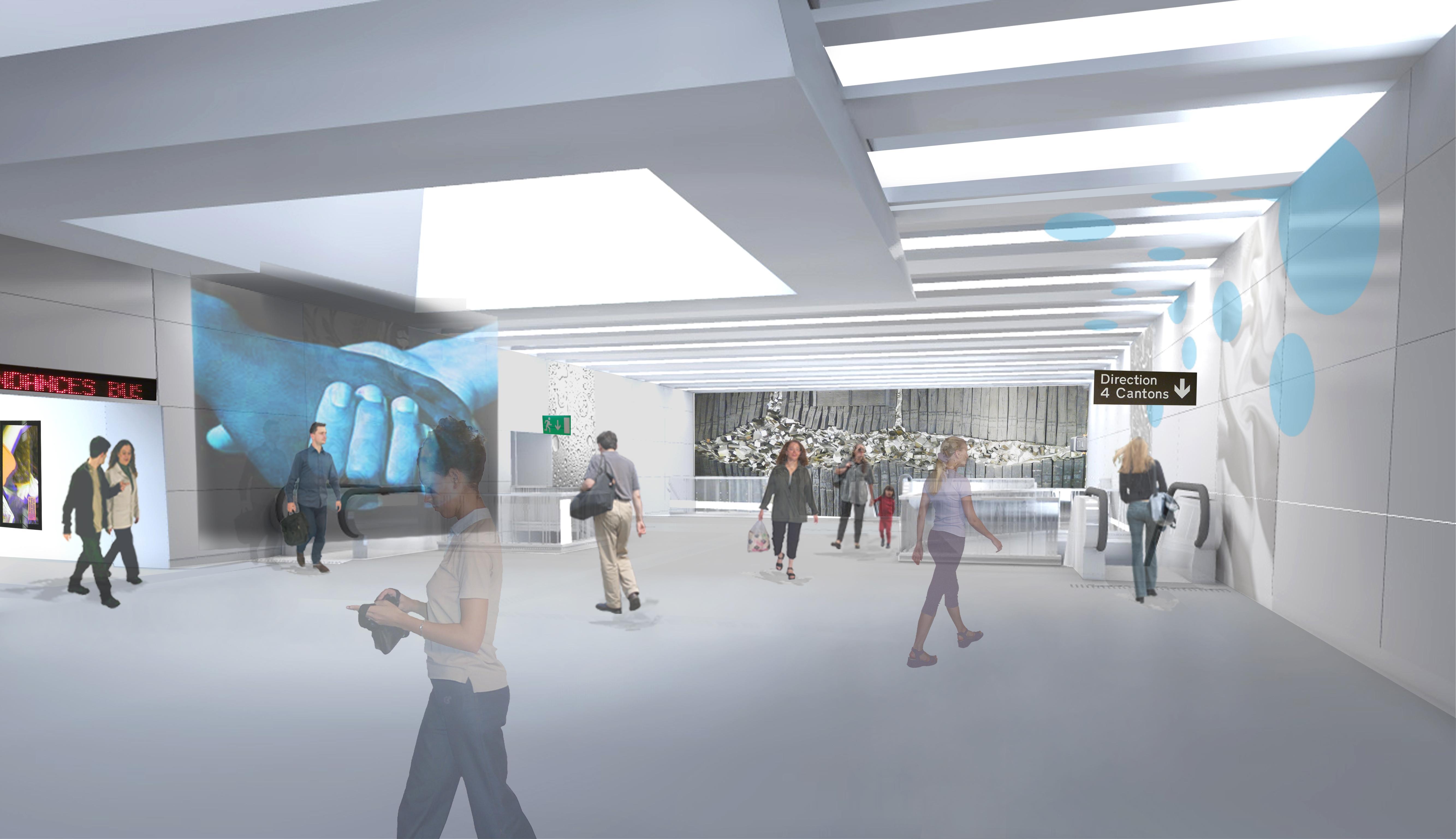 Rénovation des 15 stations ligne 1