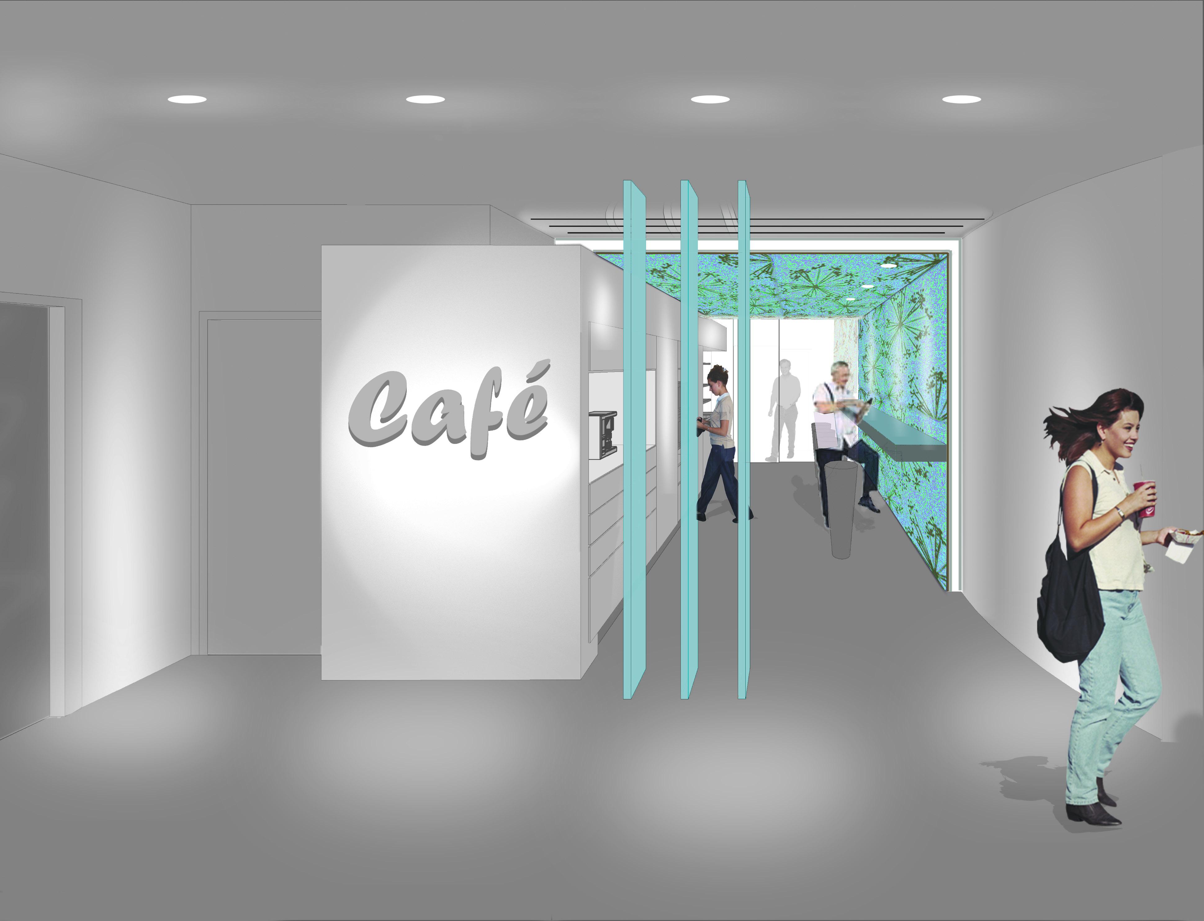 """étude pour un espace """"pause café"""""""