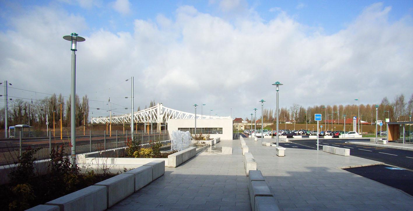 Pôle multimodal Saint-Amand-Les-Eaux