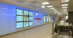 mur multimédia- salle des pas perdus