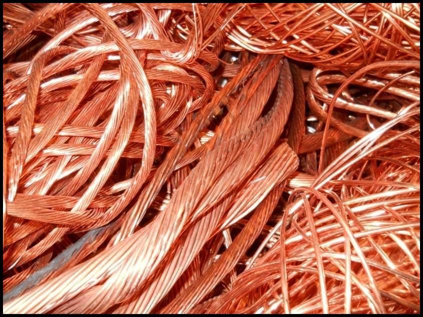 Bare Bright Copper