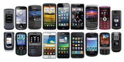Cell Phones - No Batteries