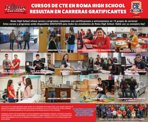 CTE Month AD SPANISH 2019