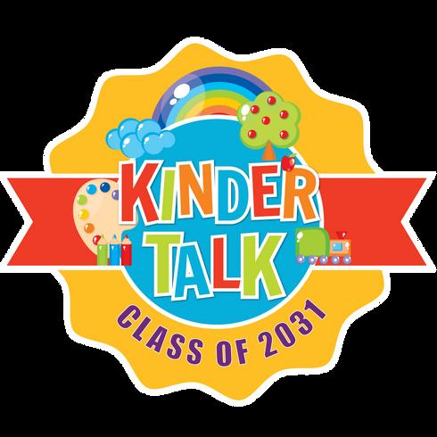 Kindertalk Class of 2031 Logo