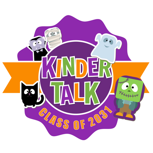 Kindertalk Class of 2031 Halloween Logo