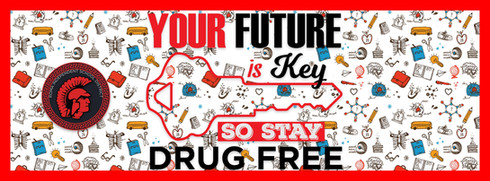 Drug Free Week Social Media Banner