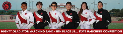 Gladiator Marching Band U.I.L. State Marching Billboard 2017-2018