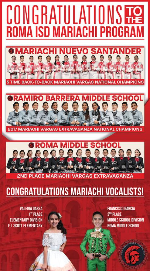 El Tejano Newspaper Mariachi Program AD