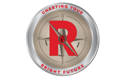 Roma ISD Charting Your Bright Future Logo