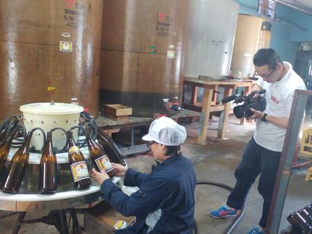 「昼めし旅」(テレビ東京)の取材を受けました。