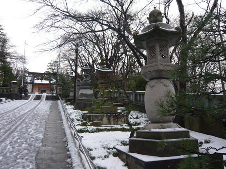 大野日吉神社初詣