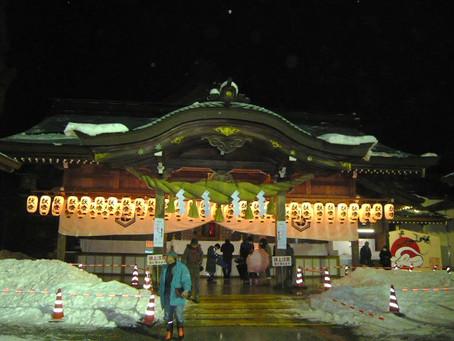 白山比咩神社参拝