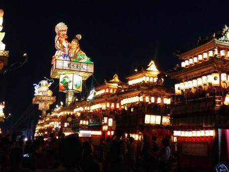 珠洲市燈籠山祭り