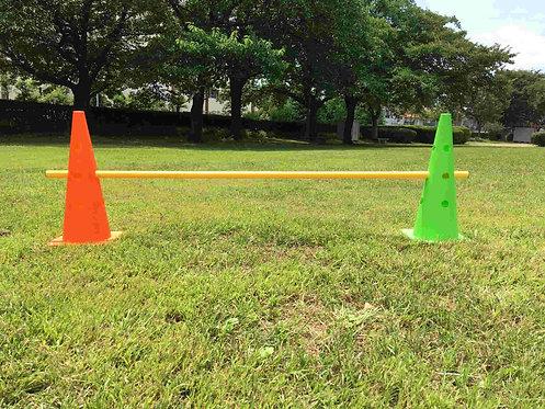 レンタル商品のドッグ、サッカートレーニング用の三角コーン・パイロン・カラーコーンの商品画像