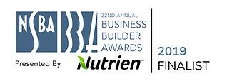 BBA Finalist NSBA Business Builder Award