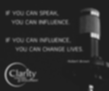 CLARITY COACHING PRESENTATION SKILLS MEM