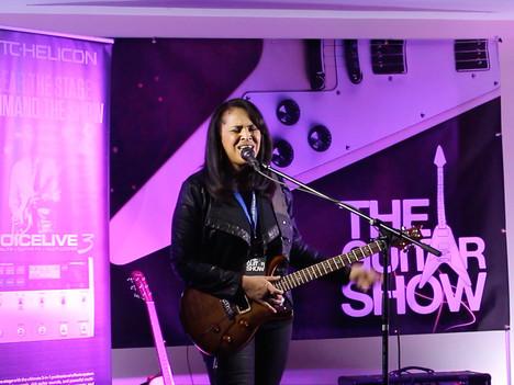 Selena showcases TC-Helicon in UK
