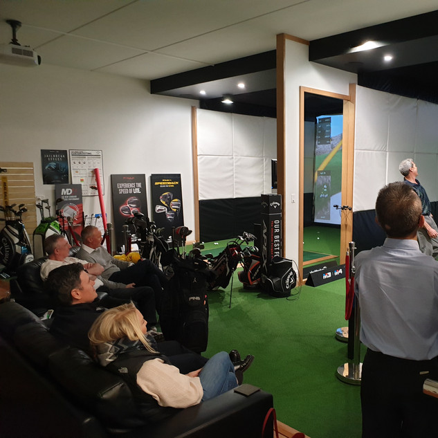 Perth Indoor Golf Trackman