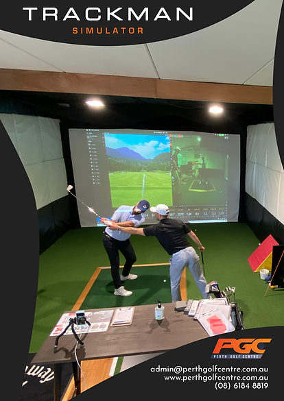 Club fittings at Perth Golf Centre