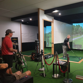 Friday night Indoor Golf