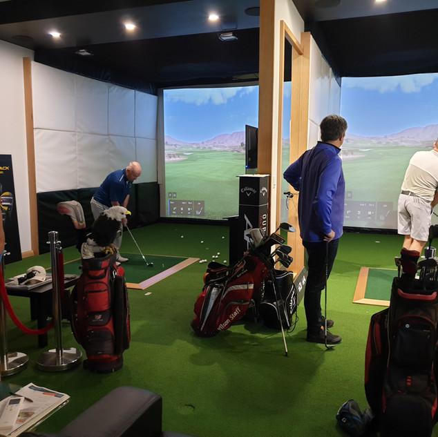 Indoor Golf Trackman Perth