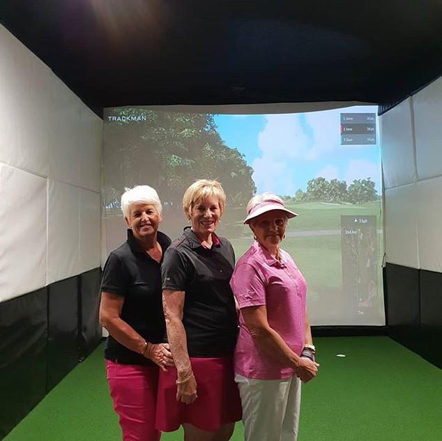 Indoor Golf League. Perth. Trackman.