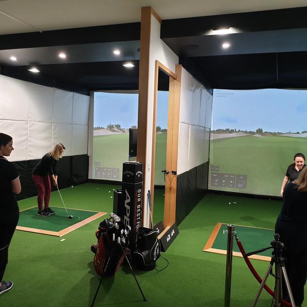 Perth Trackman Indoor Golf