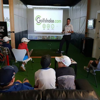 Indoor Golf. Coaching. Perth. Trackman