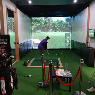 Indoor League Night. Perth. Trackman. Simulator.