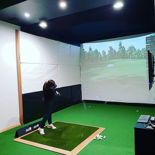 Indoor Golf. Trackman. Perth.