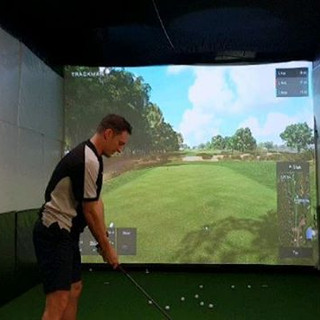 Indoor Golf. SImulator. Perth. Trackman.