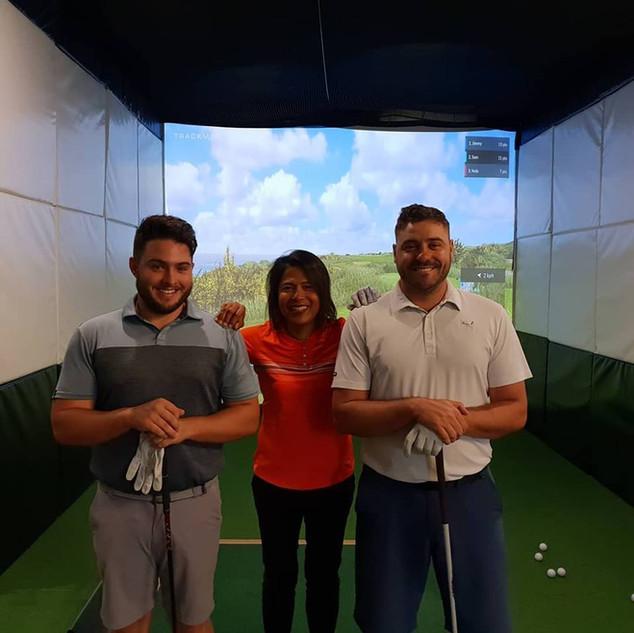 Indoor Golf League Winners!