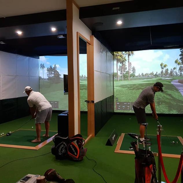 Indoor Golf League