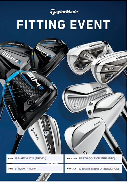 Taylormade Fitting Day