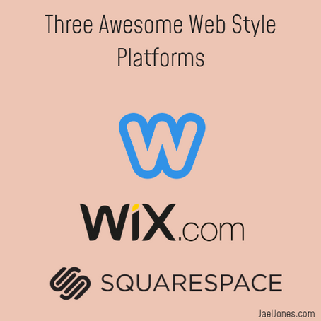 "Top Three ""DIY"" Web Styling Platforms."