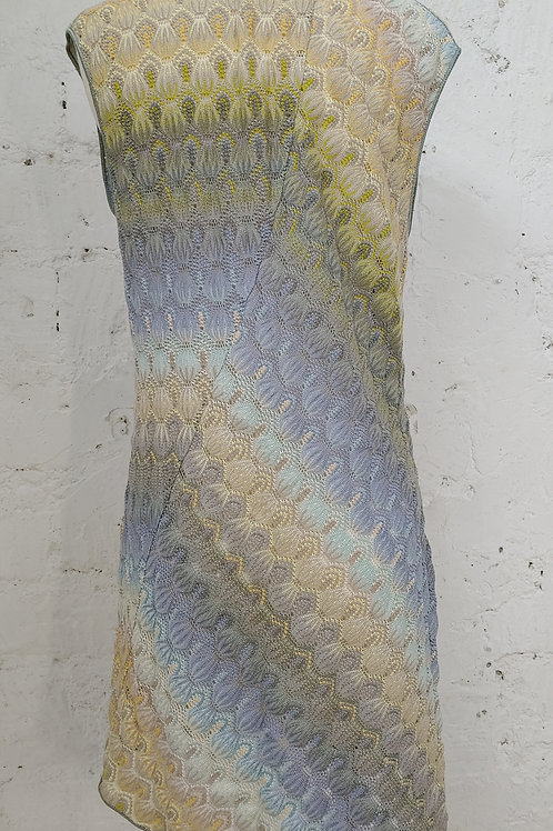 Robe maille tons pastel MISSONI