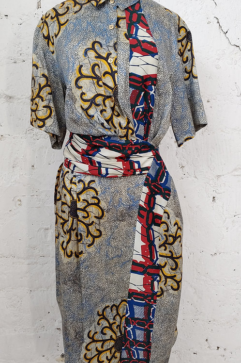 Robe imprimée DRIES VAN NOTEN
