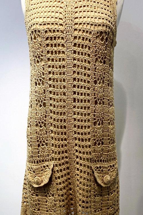 Robe en crochet DIANE von FURSTENBERG