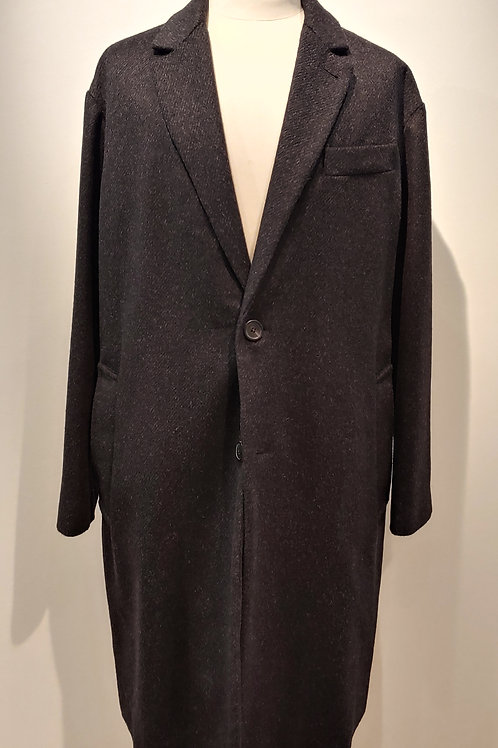 Manteau  anthracite 2 boutons AMI