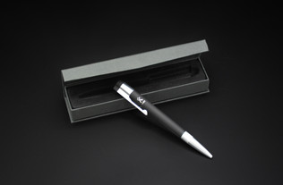 MX1  USB Pen  Logo laser engraving Soft touch - Rubber